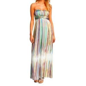 Jessica Simpson Satin Sweetheart Formal Dress